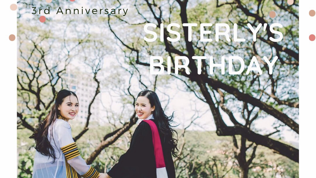 วันเกิด ครบรอบ 3 ปี กว่าจะเป็น Sisterly Jewelry
