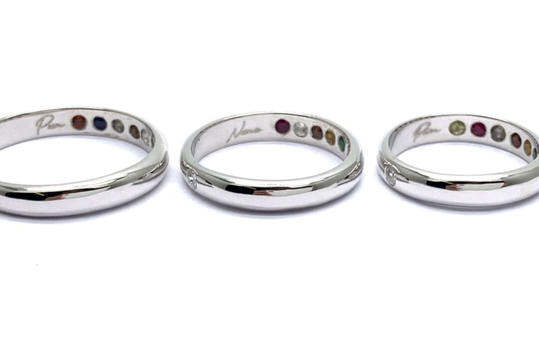 9 Gems Ring Family แหวนนพเก้าครอบครัว